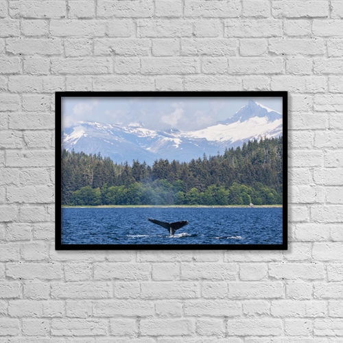 """Printscapes Wall Art: 18"""" x 12"""" Canvas Print With Black Frame - Scenic by Ray Bulson"""