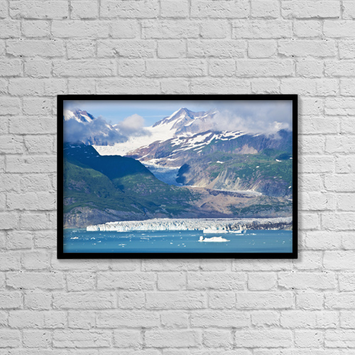 """Printscapes Wall Art: 18"""" x 12"""" Canvas Print With Black Frame - Scenic by Michael DeYoung"""