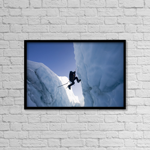 "Printscapes Wall Art: 18"" x 12"" Canvas Print With Black Frame - Sports and Recreation by Carl R. Battreall"