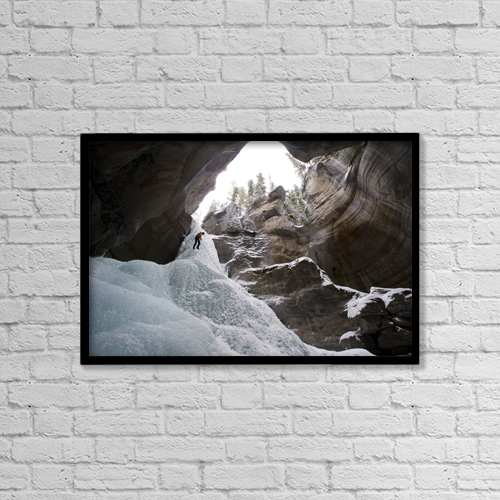 """Printscapes Wall Art: 18"""" x 12"""" Canvas Print With Black Frame - Scenic by Matt Hage"""