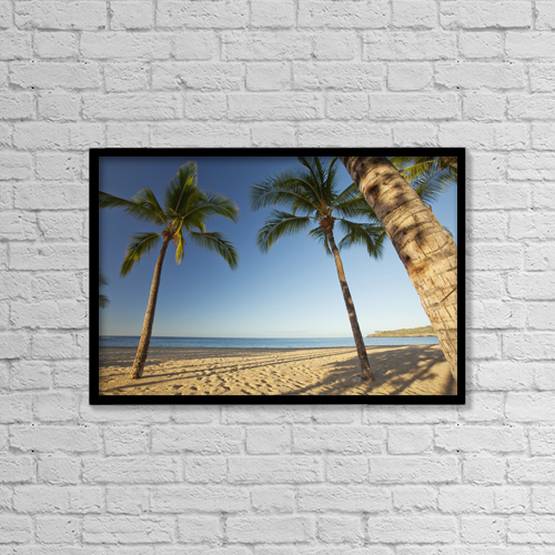 "Printscapes Wall Art: 18"" x 12"" Canvas Print With Black Frame - Travel by Jenna Szerlag"