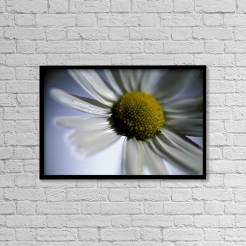 """Printscapes Wall Art: 18"""" x 12"""" Canvas Print With Black Frame - Nature by Mark Emery"""