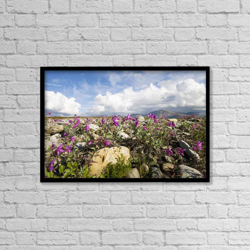 "Printscapes Wall Art: 18"" x 12"" Canvas Print With Black Frame - Scenic by Doug Demarest"