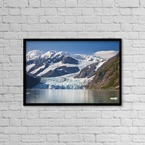 """Printscapes Wall Art: 18"""" x 12"""" Canvas Print With Black Frame - Scenic by Jeff Schultz"""