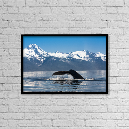 "Printscapes Wall Art: 18"" x 12"" Canvas Print With Black Frame - Scenic by Lynn Wegener"