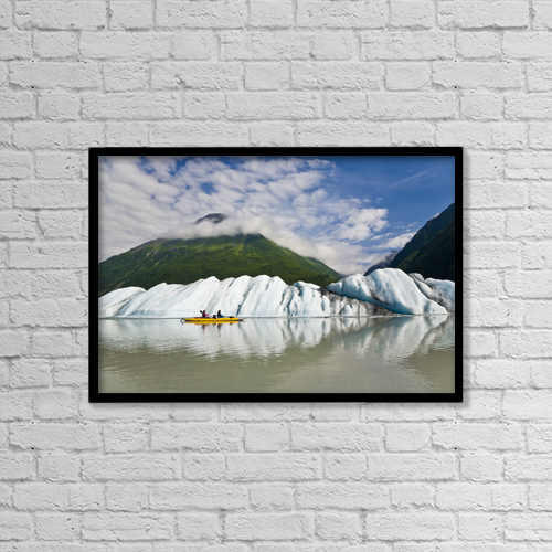 """Printscapes Wall Art: 18"""" x 12"""" Canvas Print With Black Frame - Travel by Michael DeYoung"""