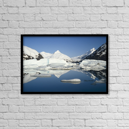 "Printscapes Wall Art: 18"" x 12"" Canvas Print With Black Frame - Scenic by Danny Daniels"