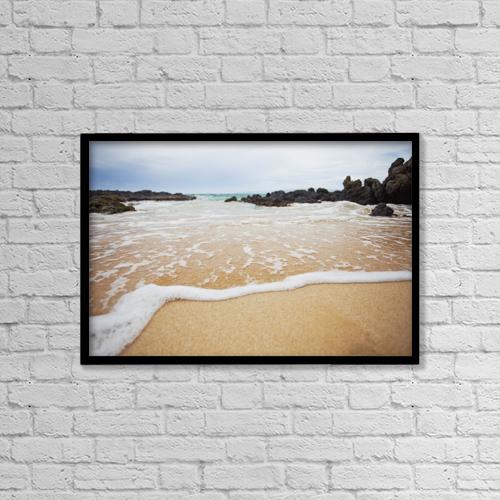 "Printscapes Wall Art: 18"" x 12"" Canvas Print With Black Frame - Scenic by Jenna Szerlag"