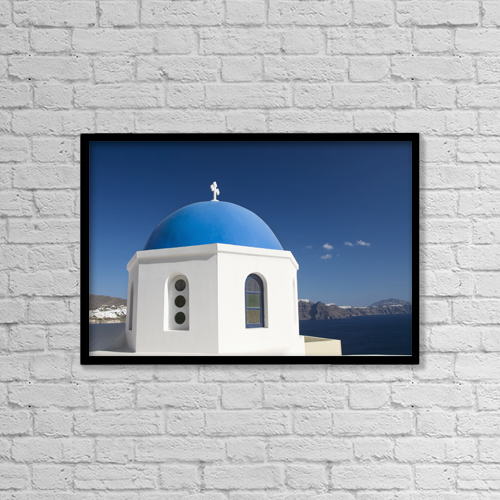 "Printscapes Wall Art: 18"" x 12"" Canvas Print With Black Frame - Scenic by Richard Maschmeyer"