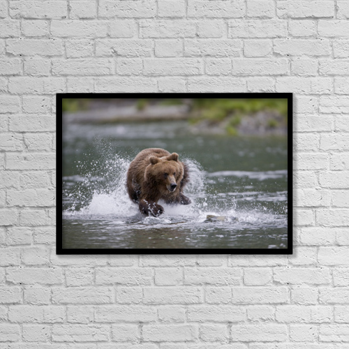 "Printscapes Wall Art: 18"" x 12"" Canvas Print With Black Frame - Food by Milo Burcham"
