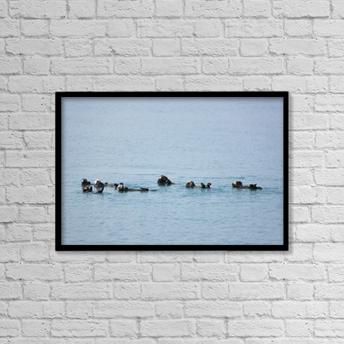 "Printscapes Wall Art: 18"" x 12"" Canvas Print With Black Frame - Lifestyle by Kevin G. Smith"