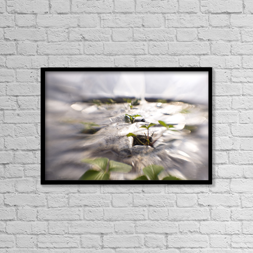"Printscapes Wall Art: 18"" x 12"" Canvas Print With Black Frame - Food by Kevin G. Smith"