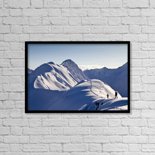 """Printscapes Wall Art: 18"""" x 12"""" Canvas Print With Black Frame - Scenic by Joe Stock"""