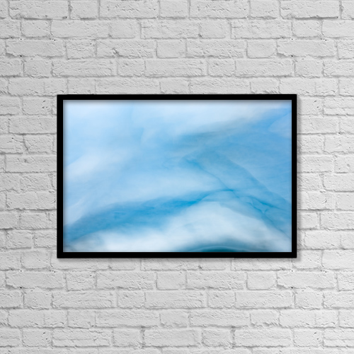 "Printscapes Wall Art: 18"" x 12"" Canvas Print With Black Frame - Creative Imagery by Kevin G. Smith"