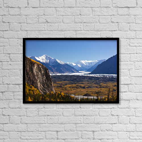 "Printscapes Wall Art: 18"" x 12"" Canvas Print With Black Frame - Scenic by Kevin G. Smith"