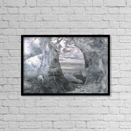 """Printscapes Wall Art: 18"""" x 12"""" Canvas Print With Black Frame - Nature by Robert Postma"""