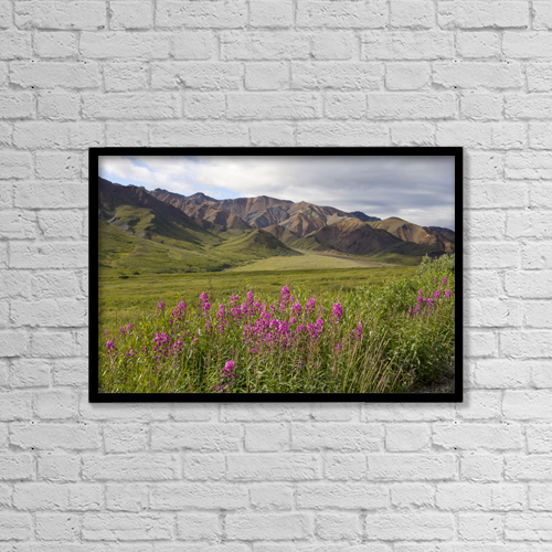 "Printscapes Wall Art: 18"" x 12"" Canvas Print With Black Frame - Scenic by Gary Schultz"