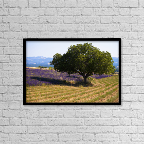 """Printscapes Wall Art: 18"""" x 12"""" Canvas Print With Black Frame - Scenic by Carlos Sanchez Pereyra"""