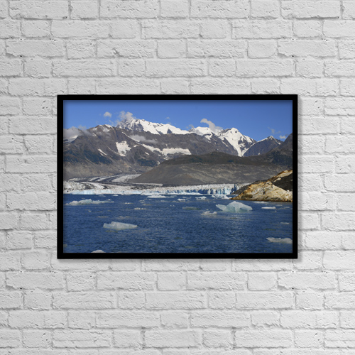 """Printscapes Wall Art: 18"""" x 12"""" Canvas Print With Black Frame - Scenic by Bill Rome"""
