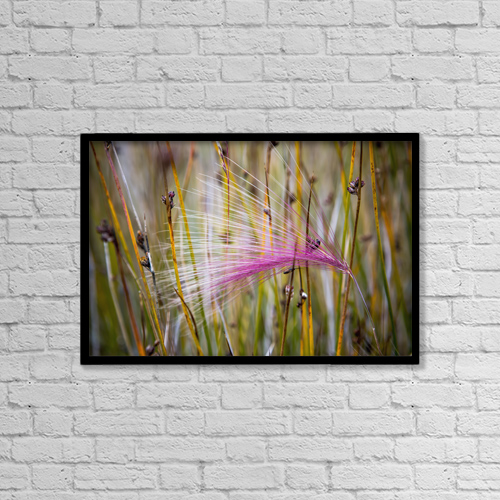"Printscapes Wall Art: 18"" x 12"" Canvas Print With Black Frame - Scenic by Toby Adamson"