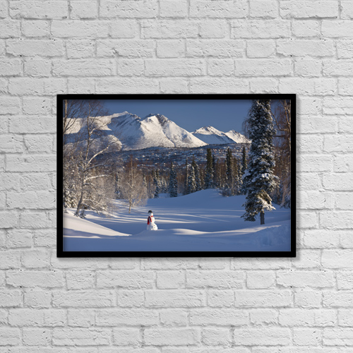 "Printscapes Wall Art: 18"" x 12"" Canvas Print With Black Frame - Objects by Kevin G. Smith"