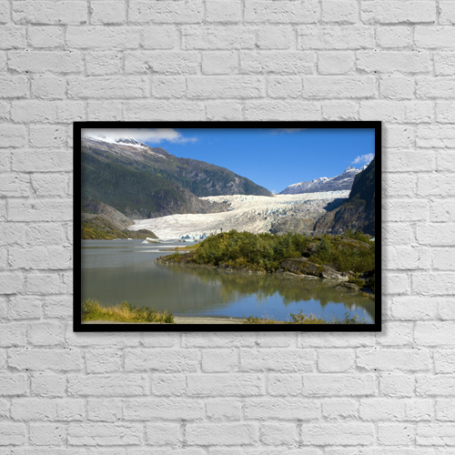 """Printscapes Wall Art: 18"""" x 12"""" Canvas Print With Black Frame - Scenic by Mike Criss"""