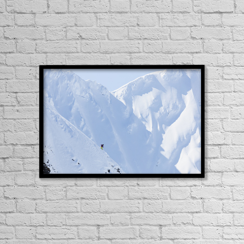 "Printscapes Wall Art: 18"" x 12"" Canvas Print With Black Frame - Lifestyle by Scott Dickerson"