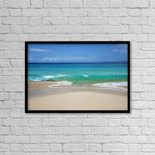 "Printscapes Wall Art: 18"" x 12"" Canvas Print With Black Frame - Creative Imagery by Jenna Szerlag"