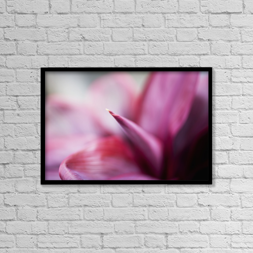 "Printscapes Wall Art: 18"" x 12"" Canvas Print With Black Frame - Travel by Charmian Vistaunet"