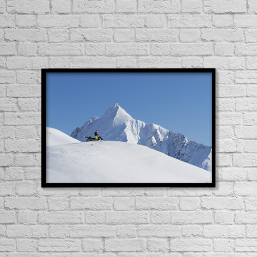 """Printscapes Wall Art: 18"""" x 12"""" Canvas Print With Black Frame - Sports and Recreation by Scott Dickerson"""