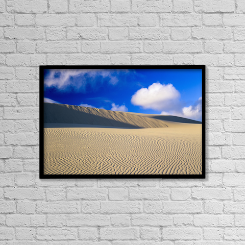 "Printscapes Wall Art: 18"" x 12"" Canvas Print With Black Frame - Scenic by Robert L. Potts"