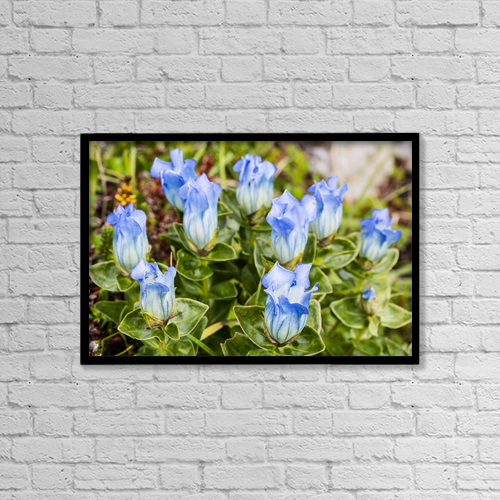 "Printscapes Wall Art: 18"" x 12"" Canvas Print With Black Frame - Creative Imagery by Ray Bulson"