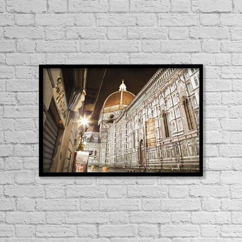 "Printscapes Wall Art: 18"" x 12"" Canvas Print With Black Frame - Christian Faith by Alexander Macfarlane"