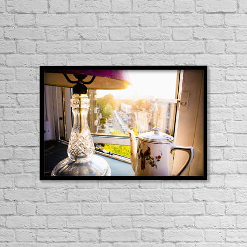 "Printscapes Wall Art: 18"" x 12"" Canvas Print With Black Frame - Other by Rick Senley"