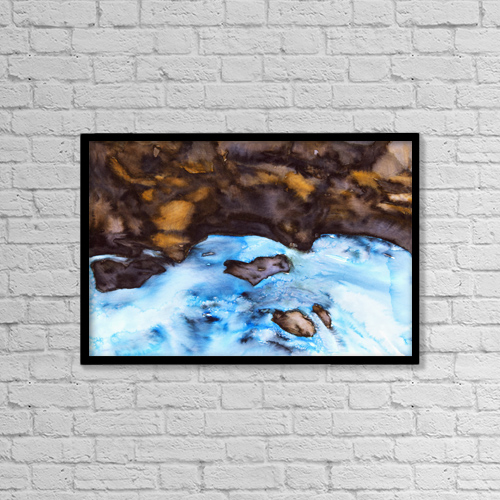 "Printscapes Wall Art: 18"" x 12"" Canvas Print With Black Frame - Artwork and Paintings by Tara Thelen"