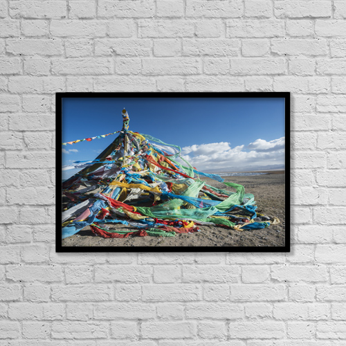 """Printscapes Wall Art: 18"""" x 12"""" Canvas Print With Black Frame - Religious by Sergey Orlov"""