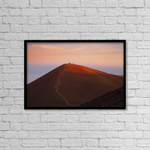 """Printscapes Wall Art: 18"""" x 12"""" Canvas Print With Black Frame - Lifestyle by Charmian Vistaunet"""