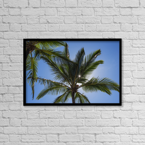 """Printscapes Wall Art: 18"""" x 12"""" Canvas Print With Black Frame - Nature by Robert L. Potts"""