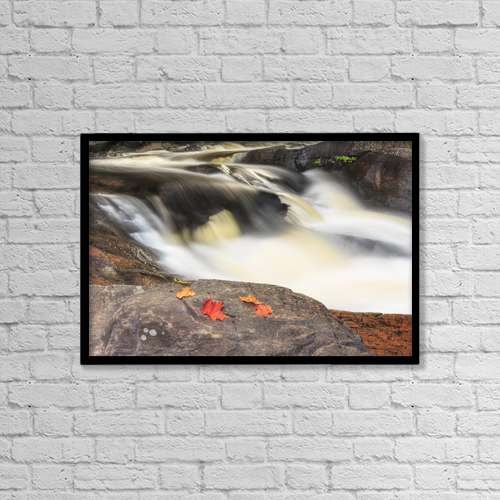 "Printscapes Wall Art: 18"" x 12"" Canvas Print With Black Frame - Nature by Ken Gillespie"