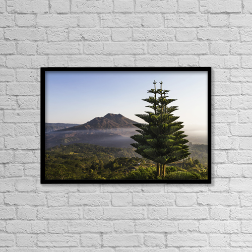 """Printscapes Wall Art: 18"""" x 12"""" Canvas Print With Black Frame - Creative Imagery by Peter Langer"""
