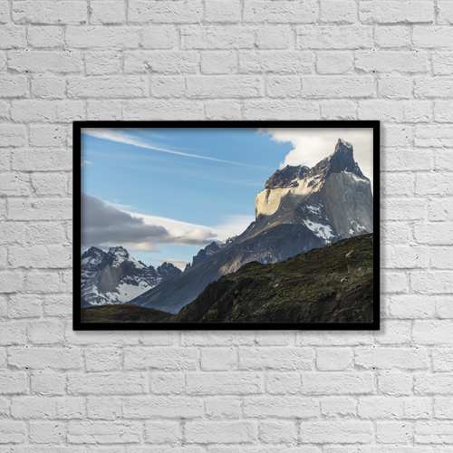 """Printscapes Wall Art: 18"""" x 12"""" Canvas Print With Black Frame - Scenic by Keith Levit"""
