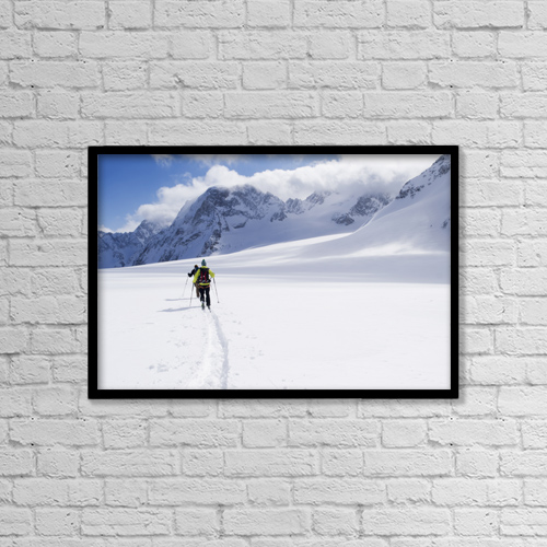 "Printscapes Wall Art: 18"" x 12"" Canvas Print With Black Frame - Lifestyle by Penny Kendall"