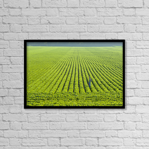 "Printscapes Wall Art: 18"" x 12"" Canvas Print With Black Frame - Lifestyle by Scott Sinklier"