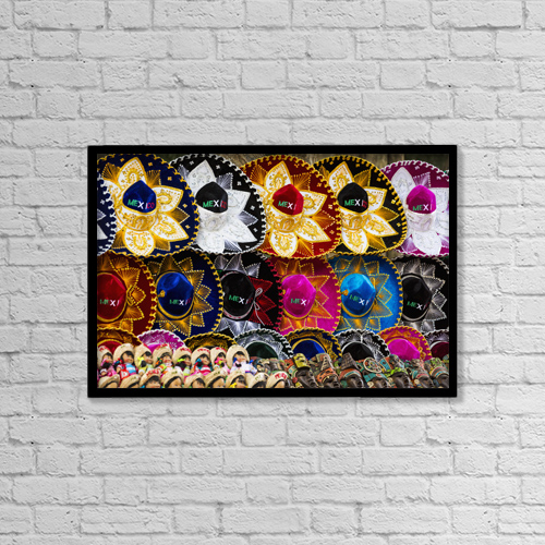 "Printscapes Wall Art: 18"" x 12"" Canvas Print With Black Frame - Objects by Michael Interisano"