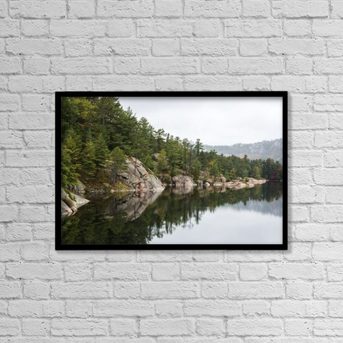 """Printscapes Wall Art: 18"""" x 12"""" Canvas Print With Black Frame - Scenic by Sergey Orlov"""