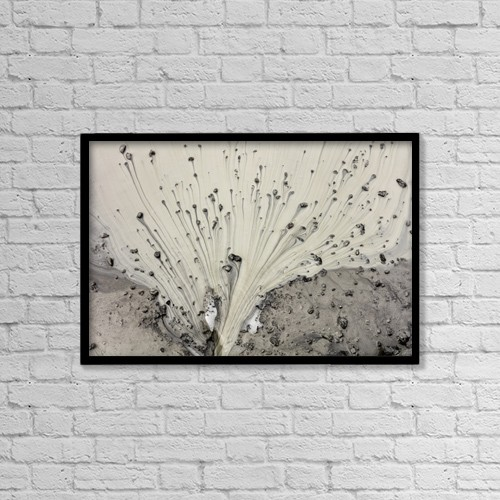 """Printscapes Wall Art: 18"""" x 12"""" Canvas Print With Black Frame - Nature by Ray Bulson"""