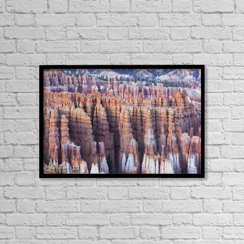 """Printscapes Wall Art: 18"""" x 12"""" Canvas Print With Black Frame - Scenic by Ronald Phillips"""