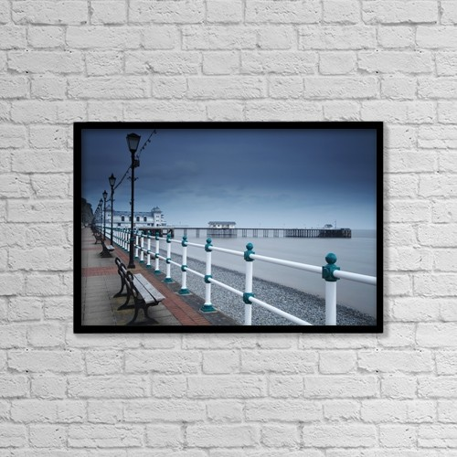 """Printscapes Wall Art: 18"""" x 12"""" Canvas Print With Black Frame - Other by Trish Punch"""