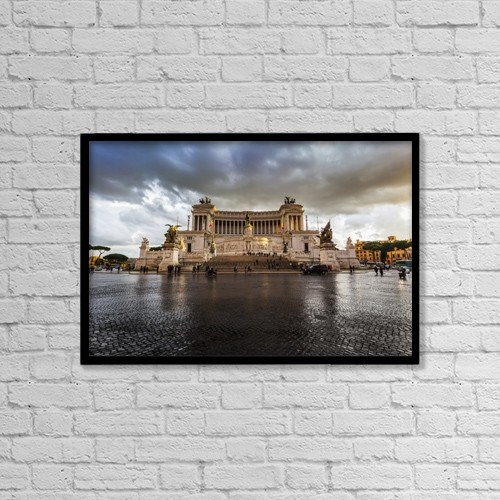 "Printscapes Wall Art: 18"" x 12"" Canvas Print With Black Frame - Lifestyle by Reynold Mainse"