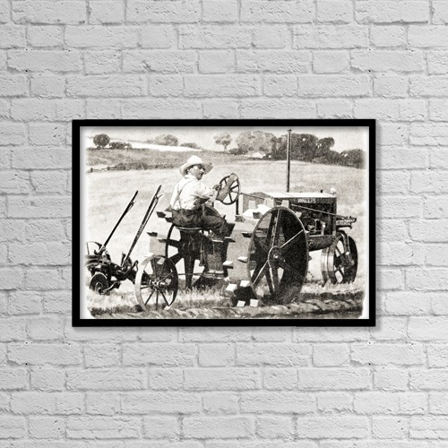 "Printscapes Wall Art: 18"" x 12"" Canvas Print With Black Frame - Creative Imagery by Remsberg Inc"